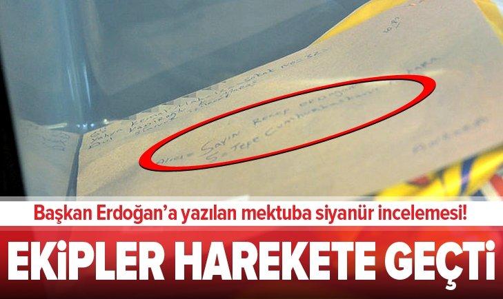 ERDOĞAN'A YAZILAN MEKTUBA SİYANÜR İNCELEMESİ!