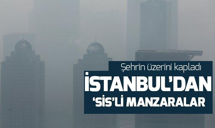 İstanbul'da yoğun sis hayatı olumsuz etkiledi