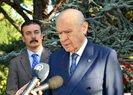 Türkeş'in kabrini ziyaret eden Devlet Bahçeli'den önemli açıklamalar