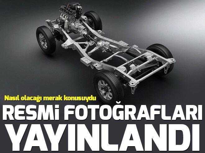 İşte Suzuki Jimny'nin resmi fotoğrafları...