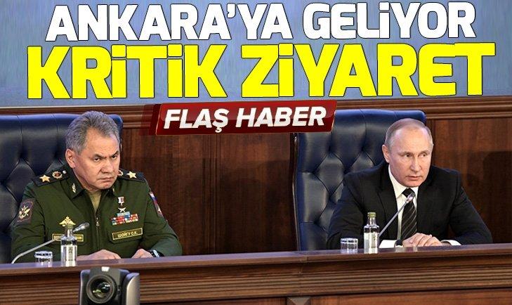 Sergey Şoygu Türkiye'ye geliyor
