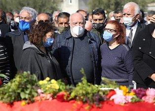 Musa Eroğlu'nun acı kaybı! Eşini son yolculuğuna uğurladı