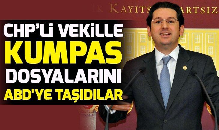 FETÖ, CHP'li Aykan Erdemir ile kumpas dosyalarını ABD'ye taşıdı