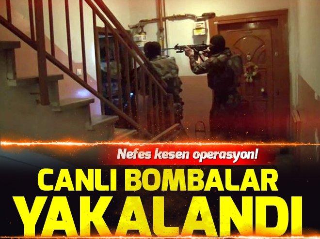 İstanbul'da terör örgütü DEAŞ'ın canlı bombaları yakalandı