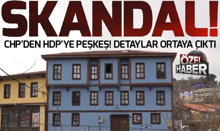 CHP'Lİ BAŞKANDAN HDP İL BAŞKANINA OTEL JESTİ