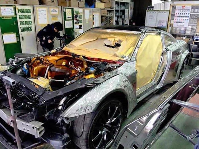 Müthiş Araba Boyama Sanatı A Haber