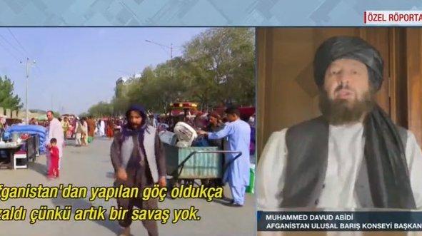 Afganistan Ulusal Barış Konseyi Başkanı A Haber'de