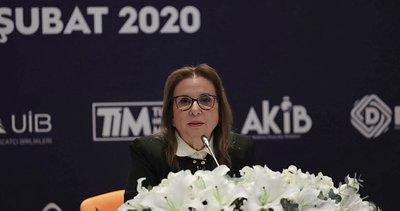 """Ticaret Bakanı Ruhsar Pekcan: """"Geçen yıl 33 kadın kooperatifi kuruldu"""""""