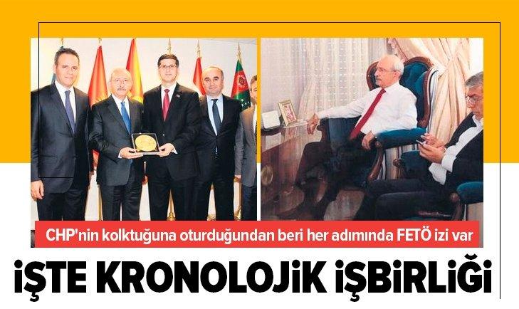 CHP'nin FETÖ ile kronolojik işbirliği