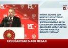 Son dakika: Başkan Erdoğan'dan canlı yayında flaş S-400 açıklaması: Rusya ile birlikte... |Video