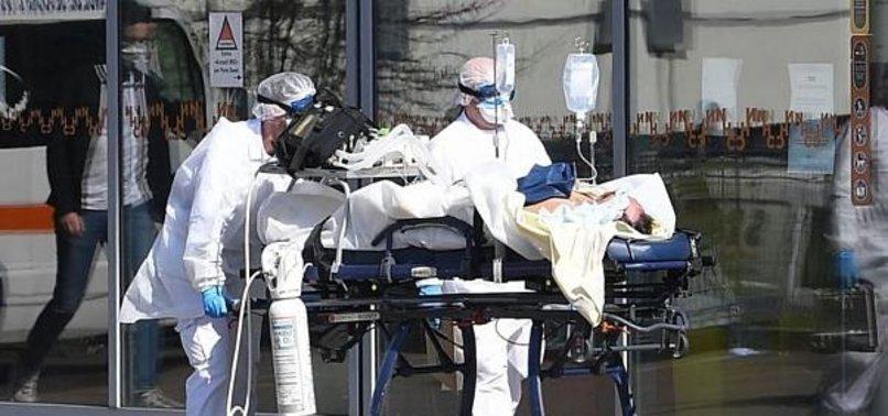 Fransa'da günlük koronavirüs ölümleri 500'ü buldu