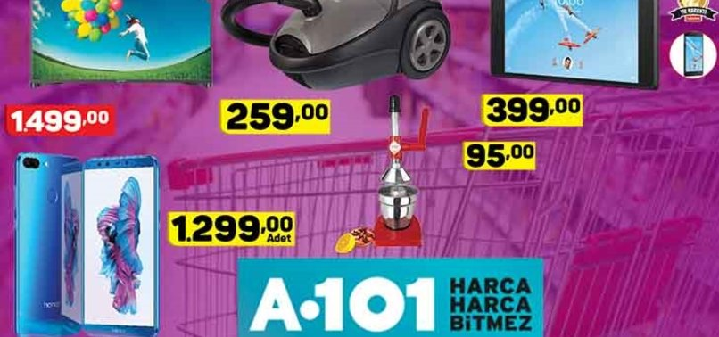 A101 AKTÜEL ÜRÜNLER KATALOĞU VE FİYATLARI!