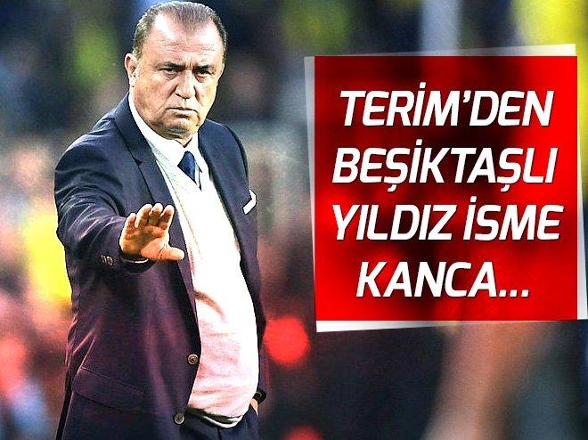 Fatih Terim'den Beşiktaşlı yıldıza kanca