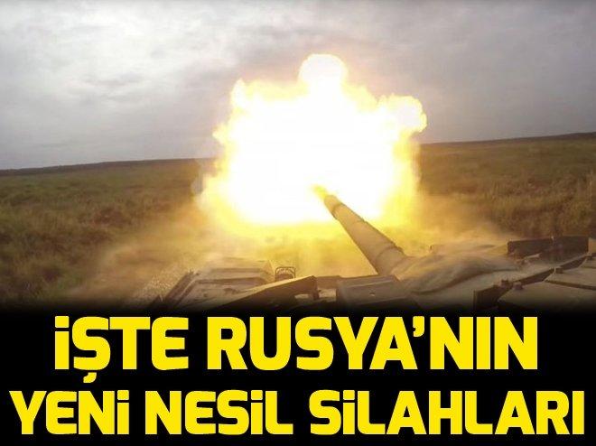 İŞTE RUSYA'NIN YENİ NESİL SAVAŞ MAKİNELERİ...