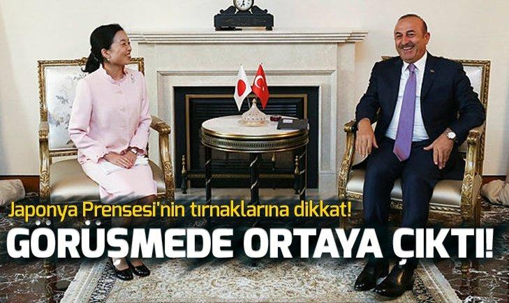 JAPONYA PRENSESİ'NİN TIRNAKLARINA DİKKAT!