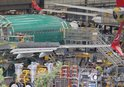 THY'NİN İLK BOEİNG 737 MAX 8 UÇAĞI İMALAT HATTINDA GÖRÜNTÜLENDİ