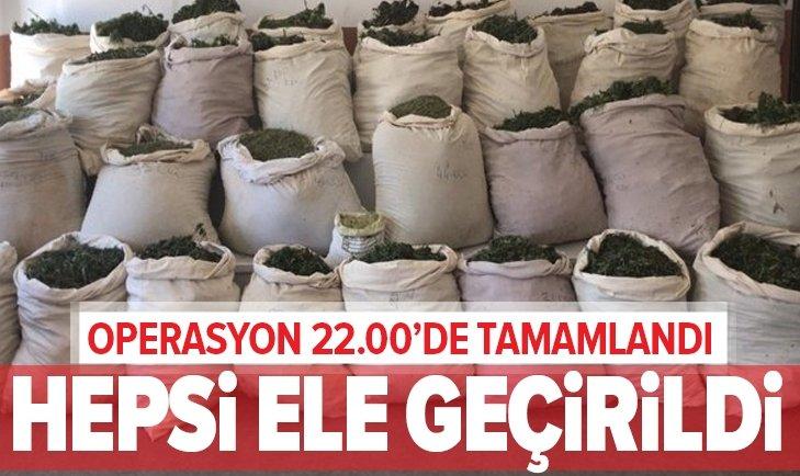 LİCE'DE ZEHİR TACİRLERİNE BASKIN