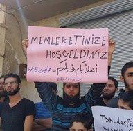 İdlibde Türk askerine sevgi gösterileri sürüyor