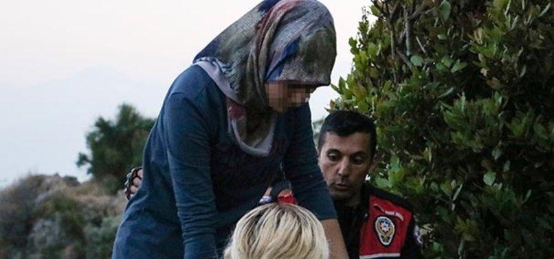 POLİSLER, LİSELİ KIZA YALVARDI...