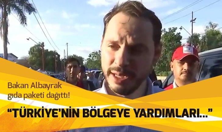 BAKAN ALBAYRAK AFET BÖLGESİNDE İNCELEME YAPTI!