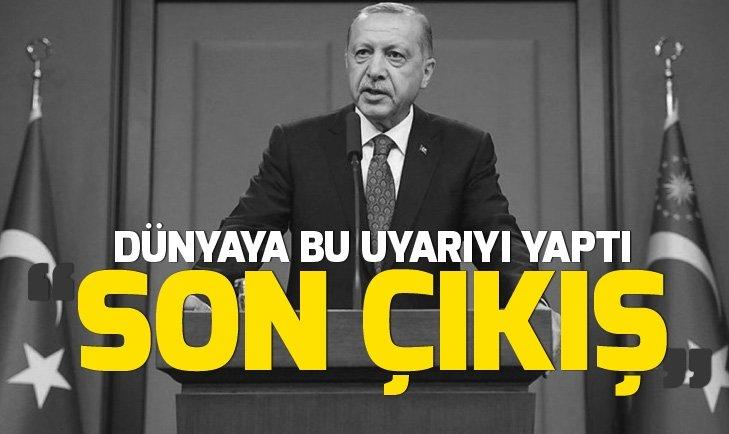Başkan Erdoğan, WSJ'ye makale yazdı