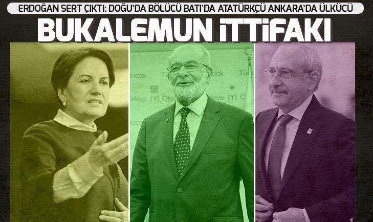 'BUKALEMUN İTTİFAKI' TEPKİSİ!