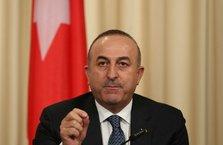 Dışişleri Bakanı Mevlüt Çavuşoğlu'ndan İsrail açıklaması