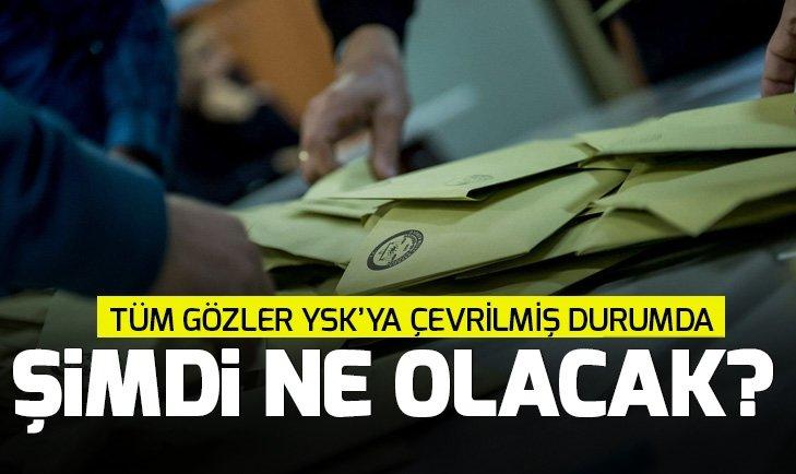 İstanbul seçim sonuçlarına itirazda son durum! YSK itiraz kararı son dakika