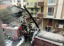 A Haber, İstanbul'da düşen askeri helikopteri görüntüledi