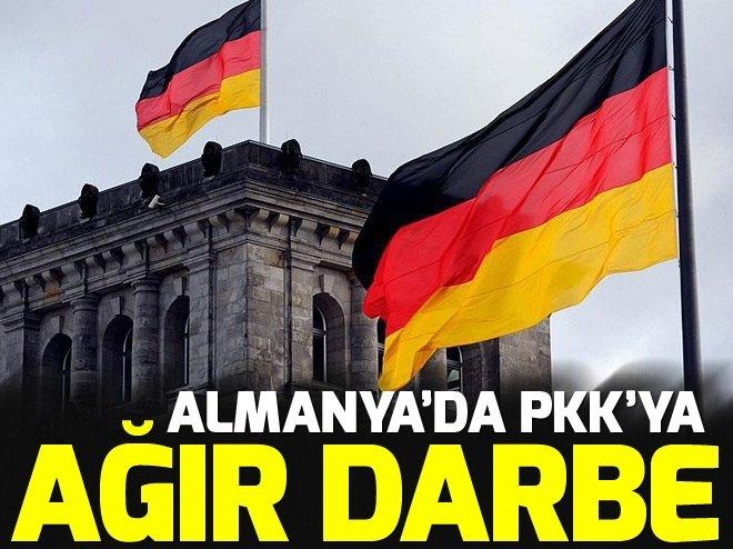Almanya'da PKK'ya ağır darbe!
