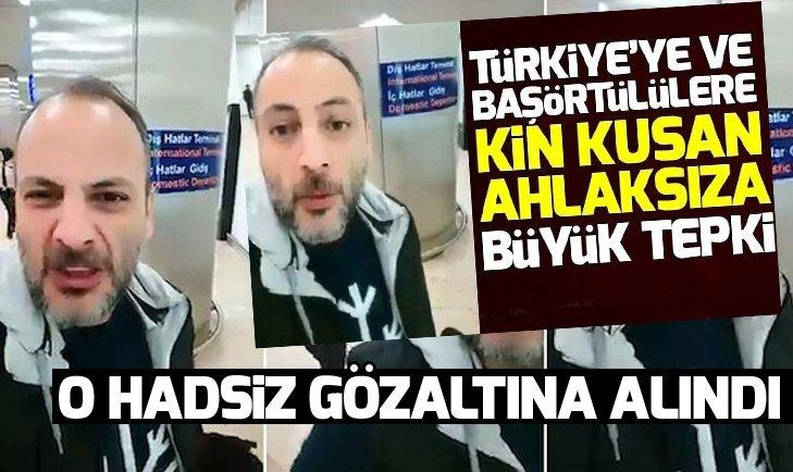 Son dakika... Başörtülülere hakaret eden Bülent Kökoğlu gözaltına alındı