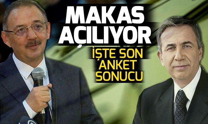 31 Mart seçimleri öncesi son seçim anketi sonucu! İşte Ankara'da son anket sonucuna göre Özhaseki ve Yavaş'ın oy oranı...