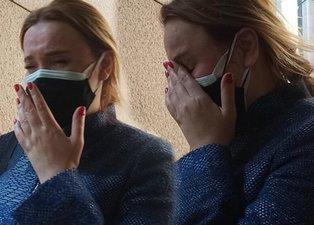 Kızının velayetini kaybeden Meral Kaplan gözyaşlarına boğuldu