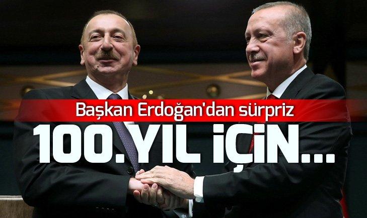 Başkan Erdoğan Bakü'nün kurtuluşunun 100. yıl dönümü dolayısıyla Azerbaycan'a gidiyor