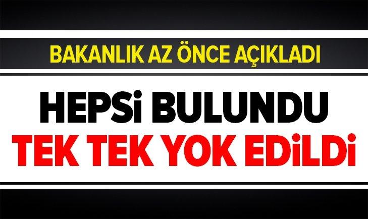 SALDIRI DÜZENLEYEN 7 ALÇAK YOK EDİLDİ!
