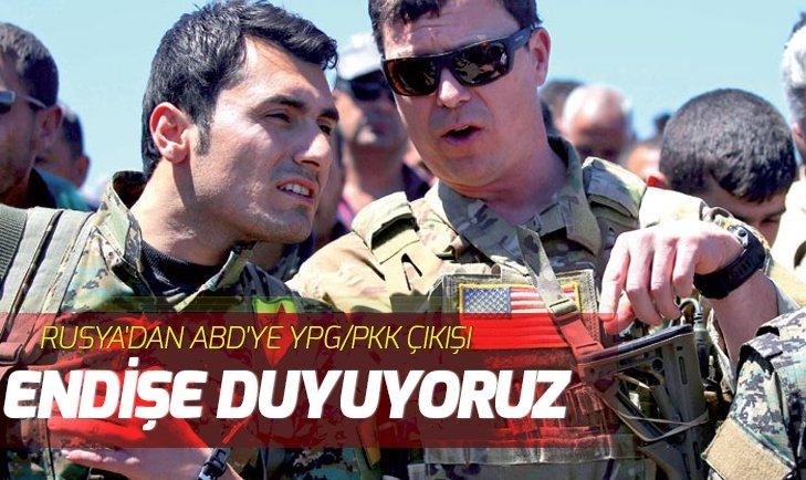 RUSYA'DAN ABD'YE YPG/PKK ÇIKIŞI: ENDİŞE DUYUYORUZ