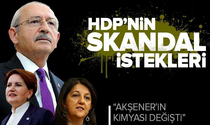 Kürt sorununu CHP lideri Kemal Kılıçdaroğlu çözecekmiş! İşte HDP'nin skandal istekleri
