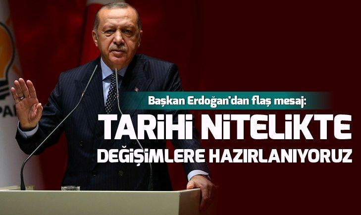 Başkan Erdoğan'dan yeni eğitim-öğretim yılıyla ilgili flaş mesaj: Tarihi nitelikte değişimlere hazırlanıyoruz