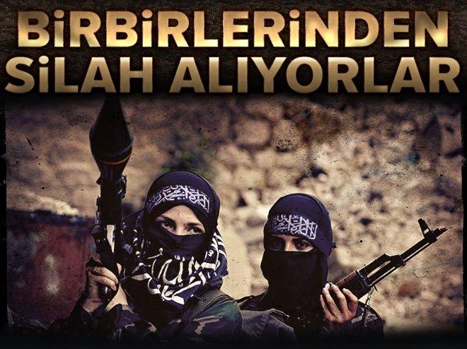 YPG/DEAŞ BİRBİRİNDEN SİLAH ALIYORLAR, SATIYORLAR