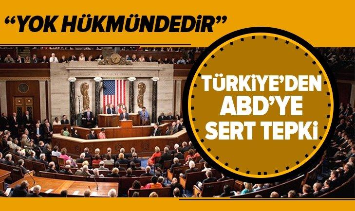 ABD SKANDAL 'ERMENİ SOYKIRIMI' KARARINA TEPKİ!