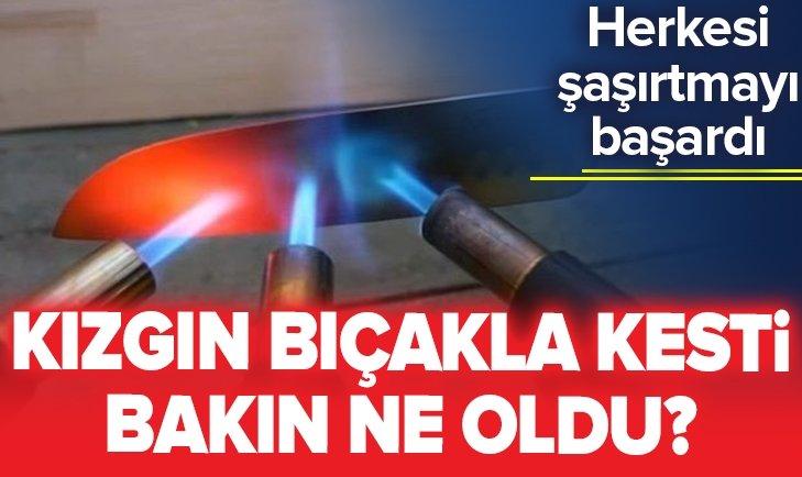 KIZGIN BIÇAKLA YAPTIKLARI HERKESİ ŞAŞIRTTI!