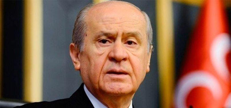 MHP LİDERİ BAHÇELİ'DEN 'PROPAGANDA SÜRECİ' İÇİN FLAŞ KARAR