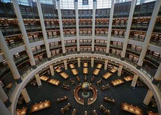 İşte Cumhurbaşkanlığı Millet Kütüphanesi'nden fotoğraflar!