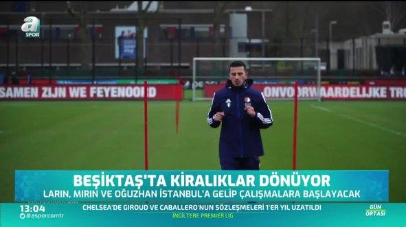 Beşiktaş'a geri dönüyorlar