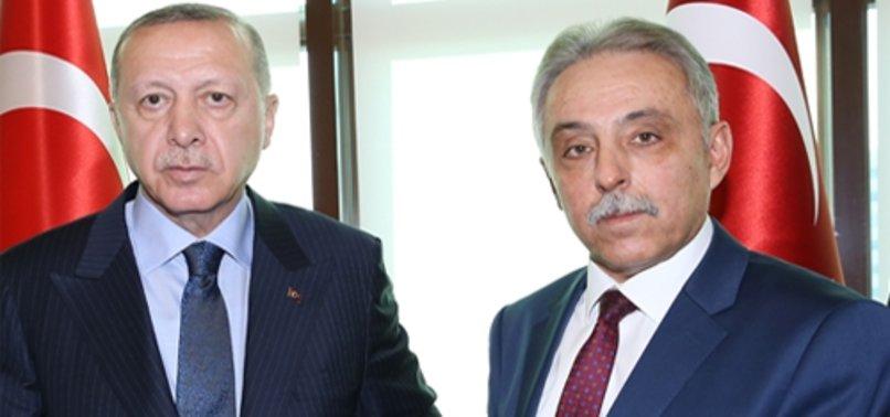 BAŞKAN ERDOĞAN, KONYA VALİSİ TOPRAK'I KABUL ETTİ