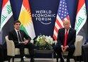 DAVOS'TA SKANDAL! TRUMP BARZANİ'Yİ TERÖRİST ELEBAŞI İLE KARIŞTIRDI |VİDEO