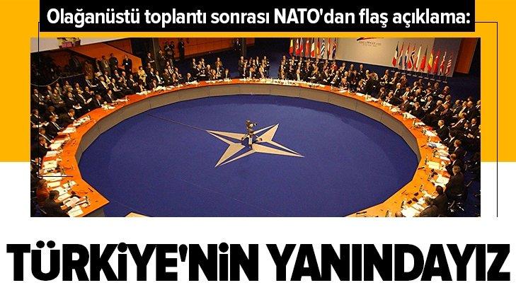 NATO'DAN TOPLANTI SONRASI FLAŞ AÇIKLAMALAR