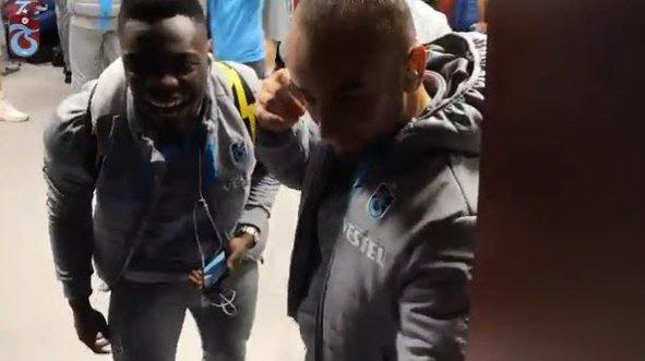 Trabzonspor'dan Ekuban paylaşımı!