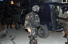 Terör operasyonunda yakalanan hainler tutuklandı!