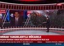 başkan Erdoğan yangınlarla ilgili bakanlardan bilgi aldı